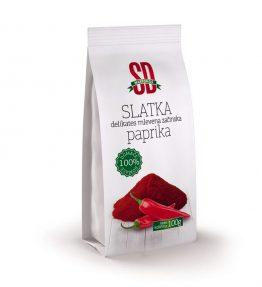 Slatka delikates mlevena začinska paprika 100g