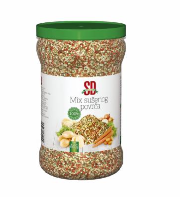 Mix sušenog povrća 600g